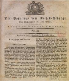 Der Bote aus dem Riesen-Gebirge, 1819, Jg. 7, No. 49