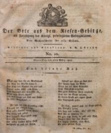 Der Bote aus dem Riesen-Gebirge, 1820, Jg. 8, No. 10