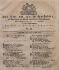 Der Bote aus dem Riesen-Gebirge, 1820, Jg. 8, No. 34