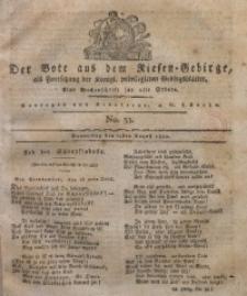 Der Bote aus dem Riesen-Gebirge, 1820, Jg. 8, No. 35