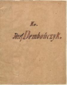 Ks. Józef Dembończyk (1847-1910)
