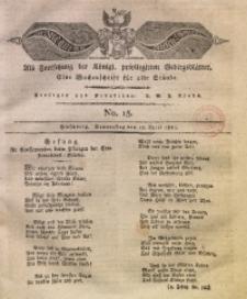 Der Bote aus dem Riesen-Gebirge, 1821, Jg. 9, No. 15