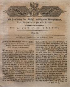 Der Bote aus dem Riesen-Gebirge, 1822, Jg. 10, No. 6