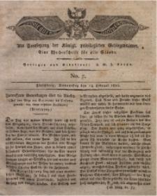 Der Bote aus dem Riesen-Gebirge, 1822, Jg. 10, No. 7