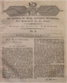 Der Bote aus dem Riesen-Gebirge, 1823, Jg. 11, No. 6