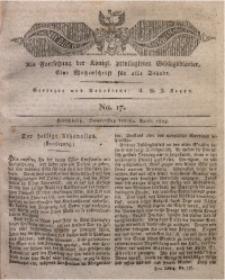 Der Bote aus dem Riesen-Gebirge, 1823, Jg. 11, No. 17