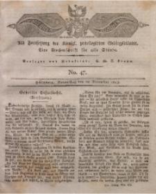 Der Bote aus dem Riesen-Gebirge, 1823, Jg. 11, No. 47