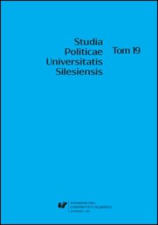 Studia Politicae Universitatis Silesiensis. T. 19