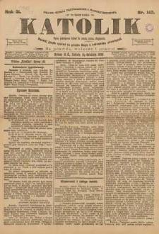 Katolik, 1898, R. 31, nr 143