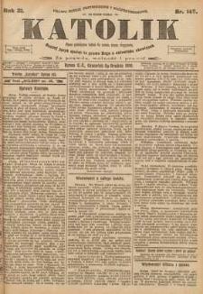 Katolik, 1898, R. 31, nr 145