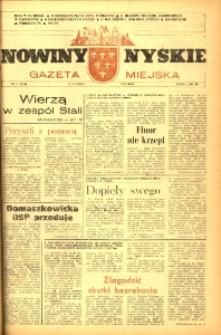 Nowiny Nyskie : gazeta miejska 1993, nr 7 (749).