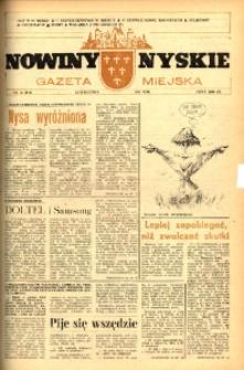 Nowiny Nyskie : gazeta miejska 1993, nr 16 (758).