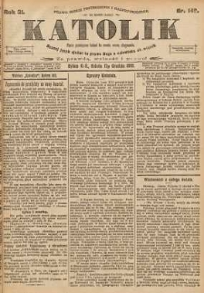 Katolik, 1898, R. 31, nr 149