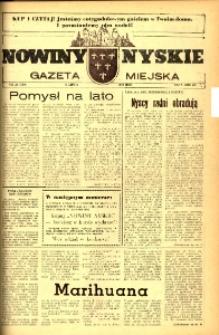 Nowiny Nyskie : gazeta miejska 1993, nr 27 (769).