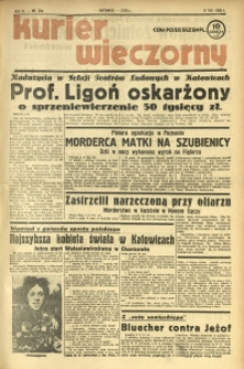 Kurier Wieczorny, 1938, R. 3, nr 209