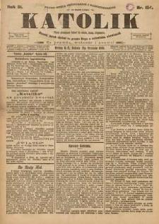 Katolik, 1898, R. 31, nr 154
