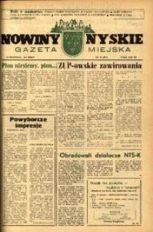 Nowiny Nyskie : gazeta miejska 1993, nr 39 (781).