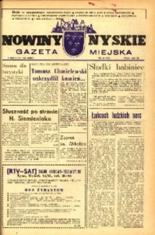Nowiny Nyskie : gazeta miejska 1993, nr 48 (790).