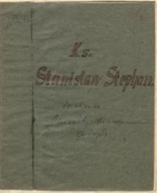 Ks. Stanisław Stephan [czystopis]