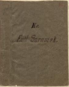 Ks. Emil Szramek [wycinki i notatki]