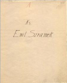 Ks. Emil Szramek [biogram]