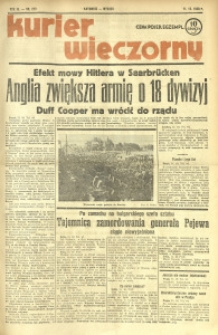 Kurier Wieczorny, 1938, R. 3, nr 273