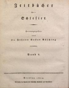 Jahrbücher der Stadt Breslau von Nikolaus Pol, Bd. 5 (1824)
