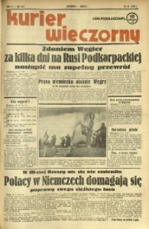 Kurier Wieczorny, 1938, R. 3, nr 312