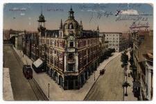 Kattowitz. Poststrasse. Műhlstrasse