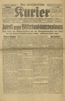 Der Oberschlesische Kurier, 1930, Jg. 24, Nr. 27
