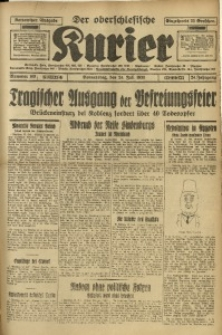 Der Oberschlesische Kurier, 1930, Jg. 24, Nr. 169