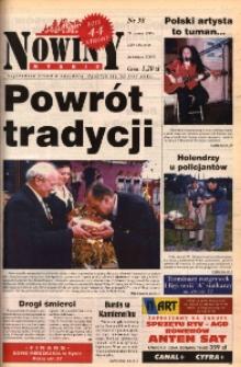 Nowiny Nyskie 1999, nr 38.