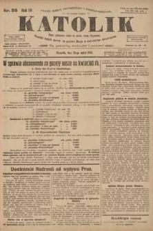 Katolik, 1923, R. 56, nr 36