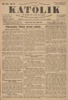 Katolik, 1923, R. 56, nr 44