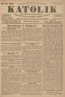 Katolik, 1923, R. 56, nr 70