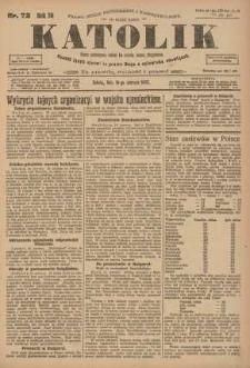 Katolik, 1923, R. 56, nr 72