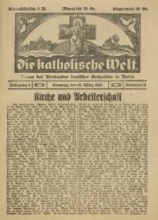 Die Katholische Welt, 1930, Jg. 5, Nr. 11
