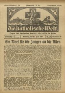Die Katholische Welt, 1930, Jg. 5, Nr. 30