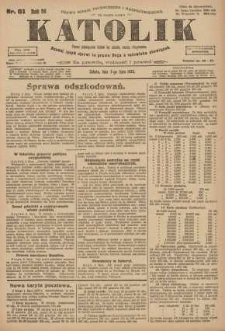 Katolik, 1923, R. 56, nr 81