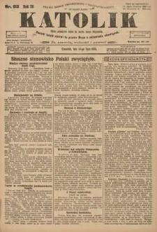 Katolik, 1923, R. 56, nr 83