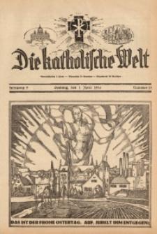 Die Katholische Welt, 1934, Jg. 9, Nr. 13
