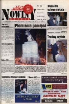 Nowiny Nyskie 1999, nr 44.