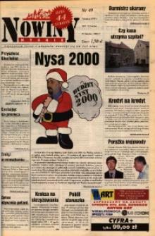 Nowiny Nyskie 1999, nr 49.