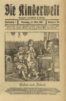 Die Kinderwelt, 1930, Jg. 4, Nr. 20