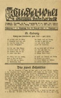 Die Kinderwelt, 1933, Jg. 7, Nr. 34