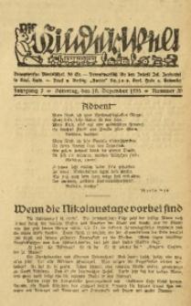 Die Kinderwelt, 1933, Jg. 7, Nr. 50