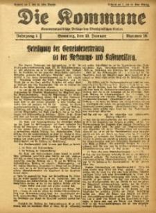 Die Kommune, 1928, Jg. 1, Nr. 18