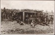 Nad Odrą w 1921. Chłopcy z Głożyn na pozycji