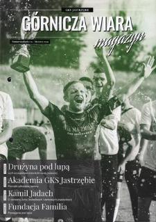 """""""Górnicza Wiara"""", Klub Sportowy """"GKS 1962 Jastrzębie"""" S.A., 2019 nr 1"""