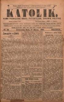 Katolik, 1885, R. 18, nr 22